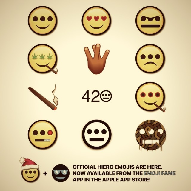Hieroglyphics emoji set