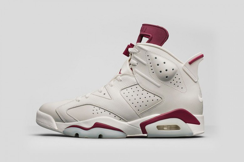 Air Jordan 6 Retro Maroon