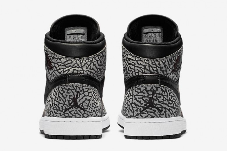 Air Jordan 1 High Elephant Print