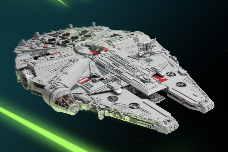 Biggest LEGO Millennium Falcon Ever Made
