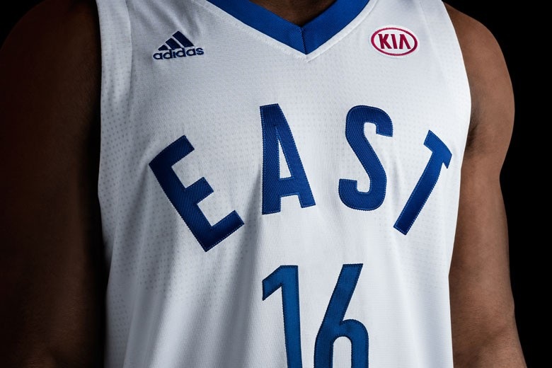 Adidas x NBA 2016 All-Star Game Uniforms