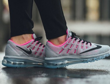 Nike Air Max 2016 GS Wolf Grey/Hyper Pink