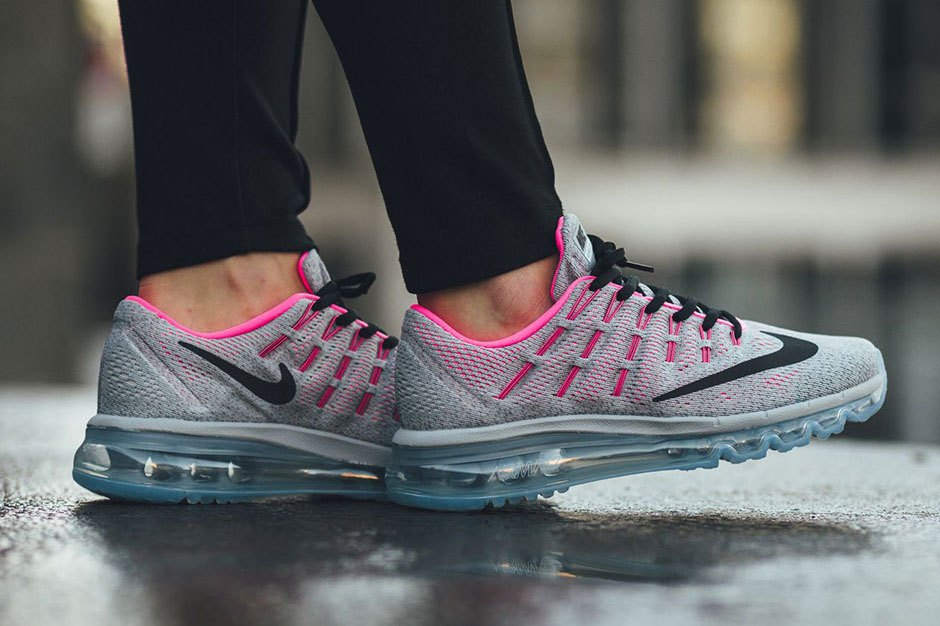 nike air max 2016 grise et rose