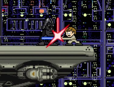 Star Wars Trilogy Recreated In 8-Bit