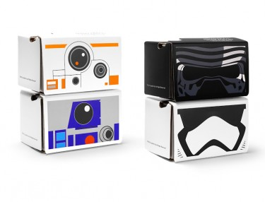 Star Wars x Google Cardboard: Virtual Reality Headsets