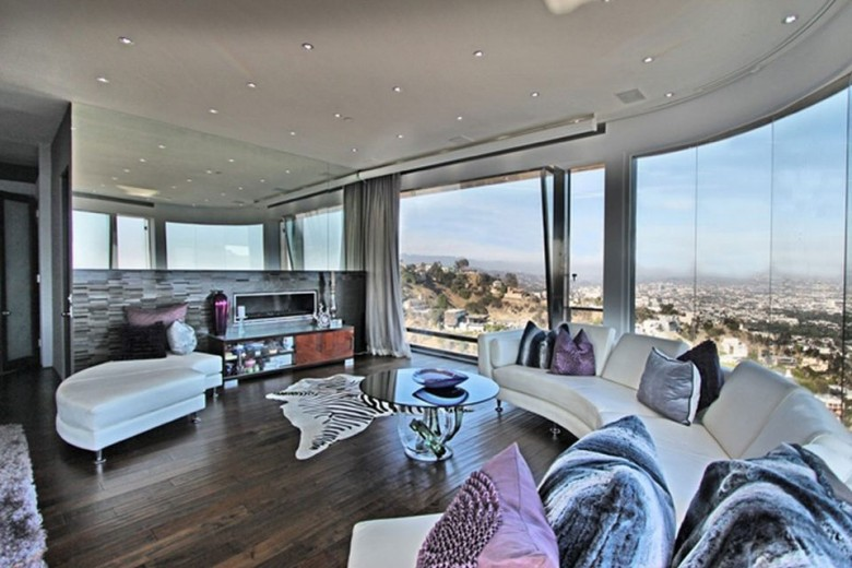 Tyga's Mansion Above Hollywood's Sunset Strip