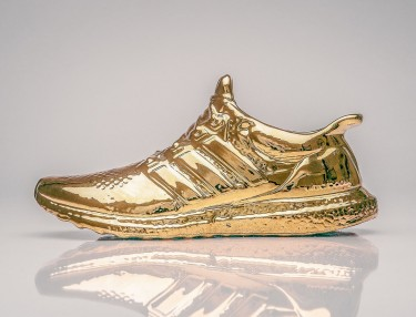 Adidas Ultra Boost Gets Dipped in Gold
