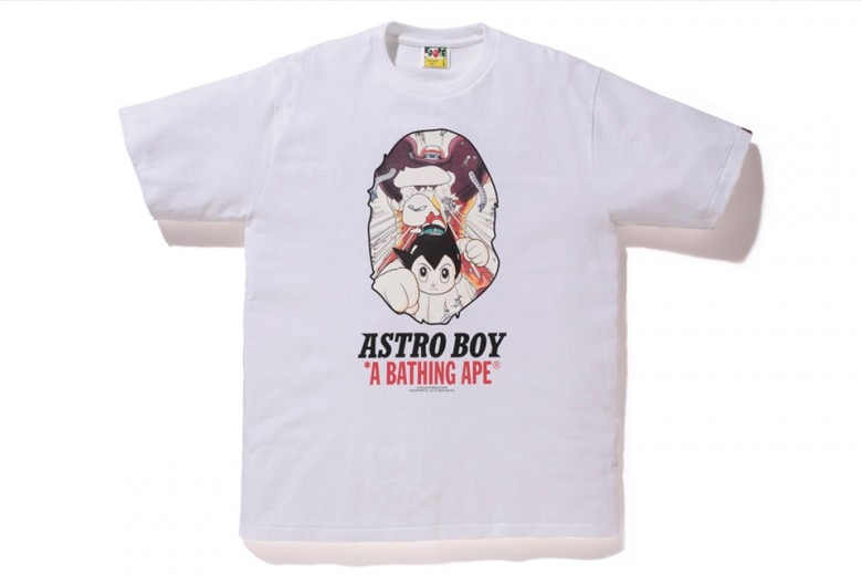 BAPE teams up with Astro Boy for a new capsule for 2016.