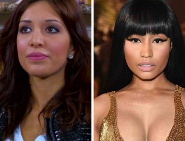 Farrah Abraham and Nicki Minaj