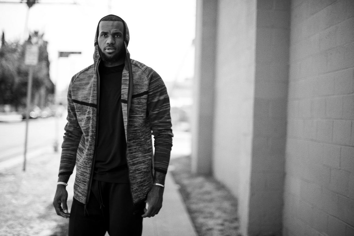 LeBron James Introduces Nike 2016 Spring Tech Knit Collection