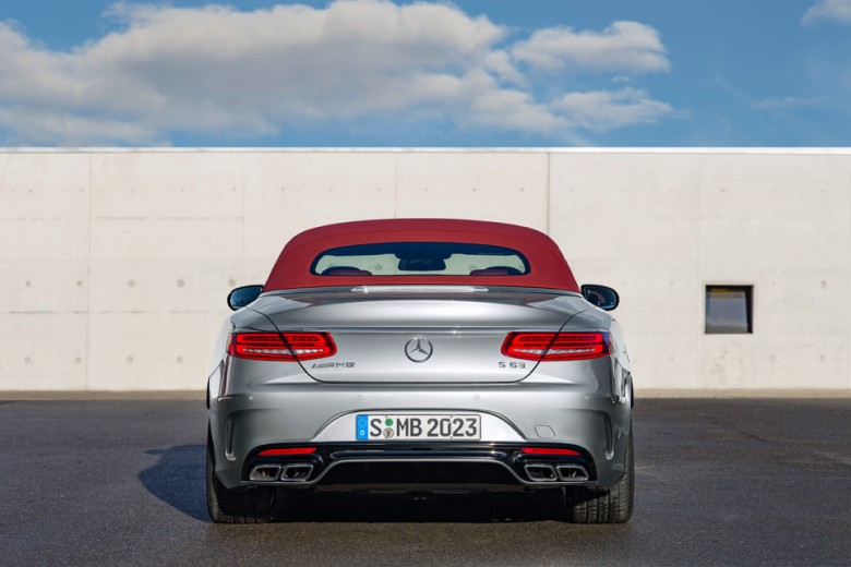 Mercedes-Benz AMG S63 Cabriolet 130th Anniversary
