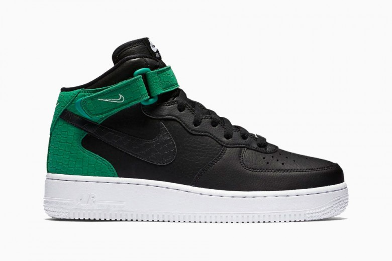 Nike Drops Two Air Force 1 Mid's With Reptile Details