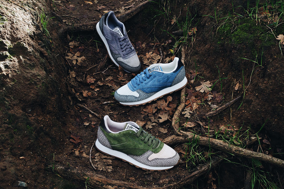 Reebok Classic Leather Safari Pack