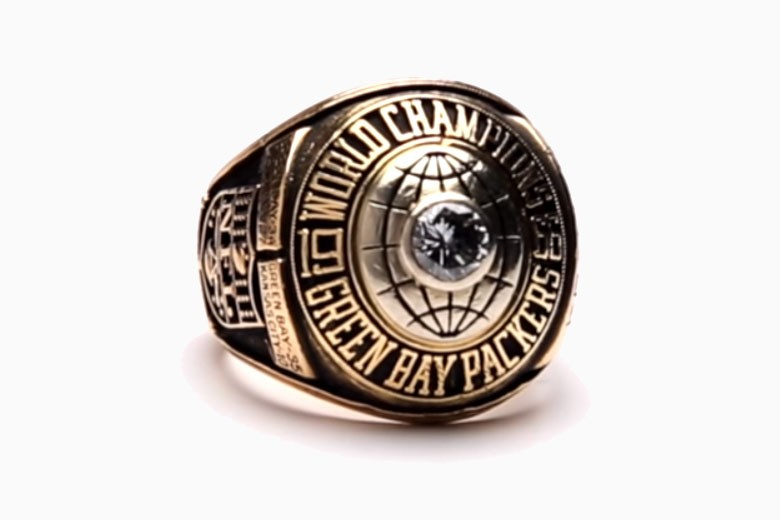 Super Bowl I ring