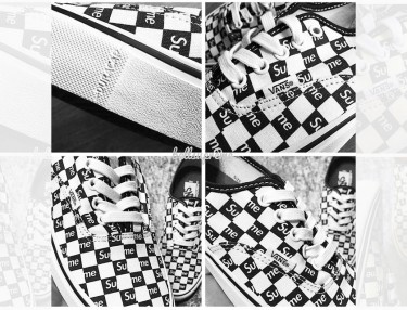First Look At Supreme's Upcoming Vans Authentic Collab