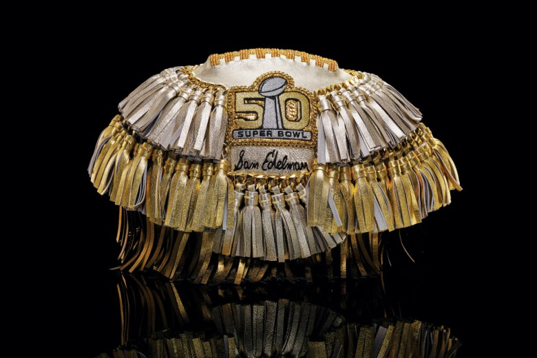 50 Designers Honor Super Bowl 50