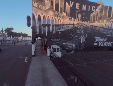 Stunning Drone Video of Venice Beach