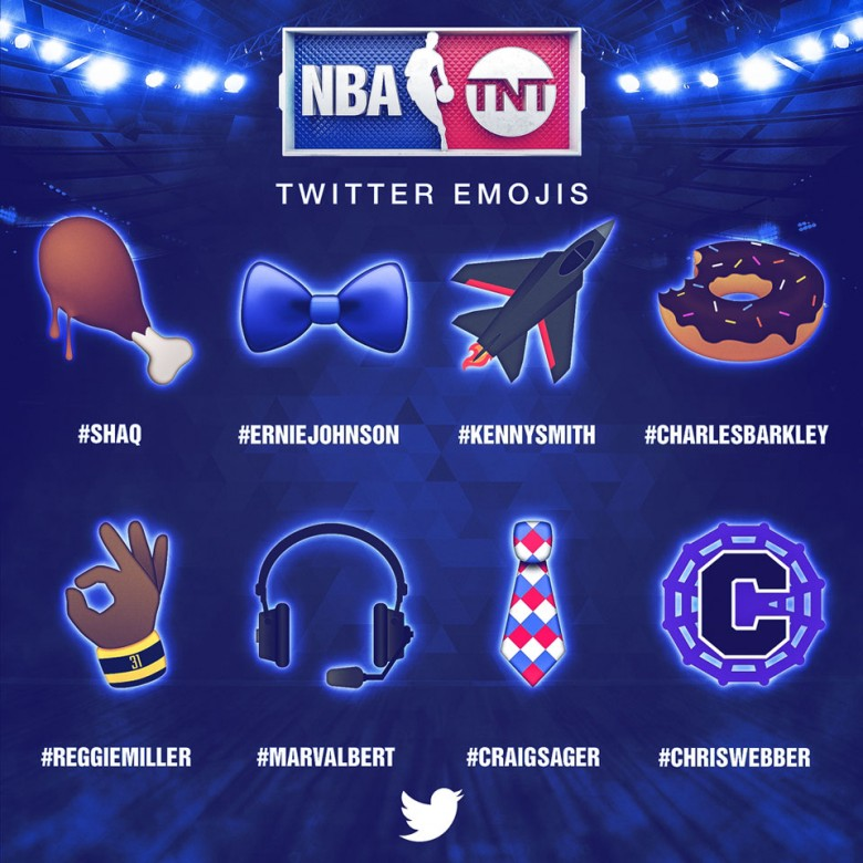 NBA All-Star 2016 emojis - Turner