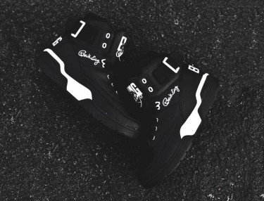 Ewing Athletics' Ewing 33 Hi Back in Black/White
