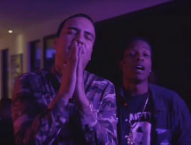 French Montana ft. A$AP Rocky & Chinx - Off The Rip Remix (Video)
