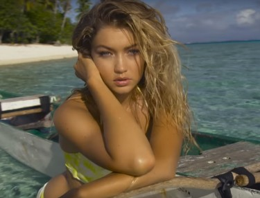 Gigi Hadid Sports Illustrated's Swimsuit Issue 2016