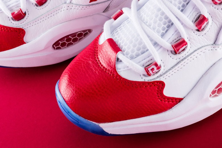 Reebok Question Mid OG - Red Toe