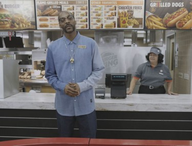 Snoop Dogg Introduces Burger King's New Grilled Dogs