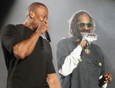 Snoop Dogg and Dre
