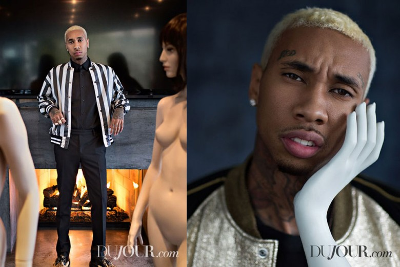 Tyga Gets Dapper in Pages of DuJour Magazine
