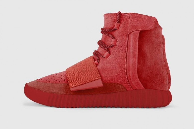 Yeezy Boost 750 - Red October