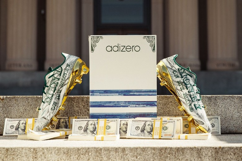 Snoop Dogg x Adidas Adizero 5-Star 5.0 Cleats