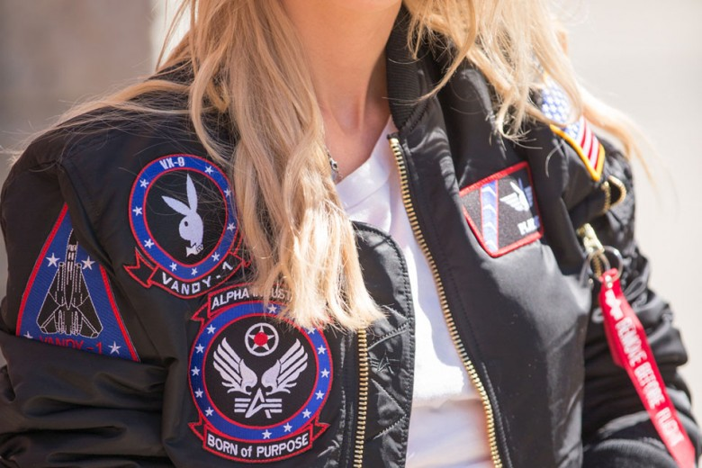 Alpha Industries x Playboy Flight Jacket Collection