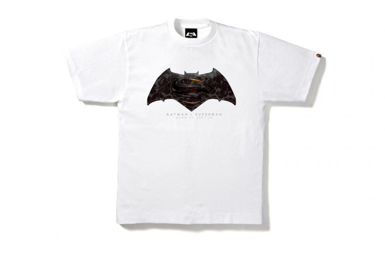 BAPE Drops 'Batman v Superman' Commemorative Tees