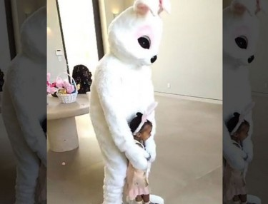 Kanye West, Tyga Rock Bunny Suits for Easter