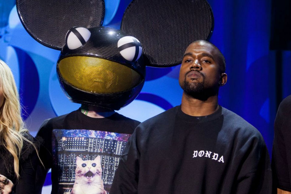 Deadmau5 and Kanye West
