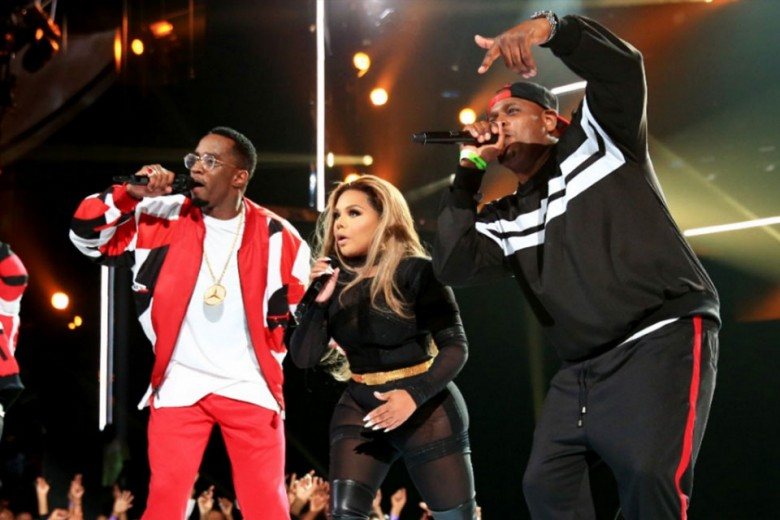 Diddy, Lil Kim and Sheek Louch