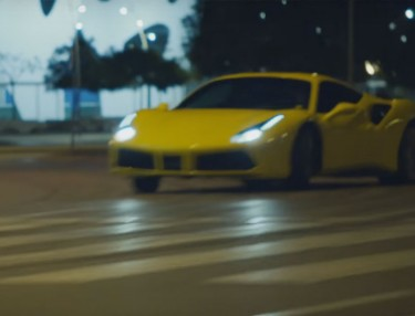 Pennzoil Takes Ferrari 488 GTB on Joyride Through Barcelona