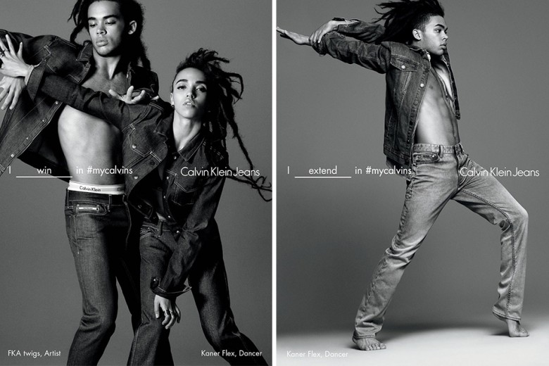 Calvin Klein's SS16 Campaign Featuring FKA Twigs