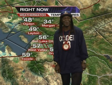 Flavor Flav Does Salt Lake City Weather Forecast