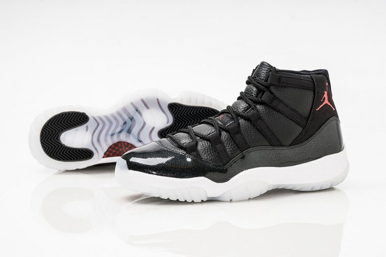 air jordan 11 retro three quarter