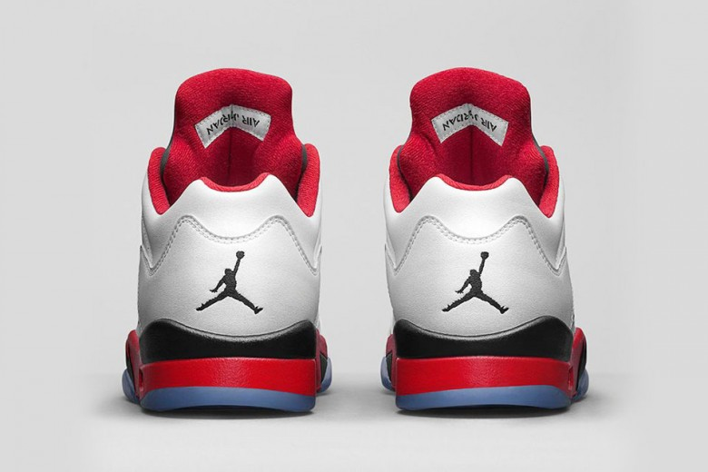 Air Jordan 5 Retro Low - Fire Red
