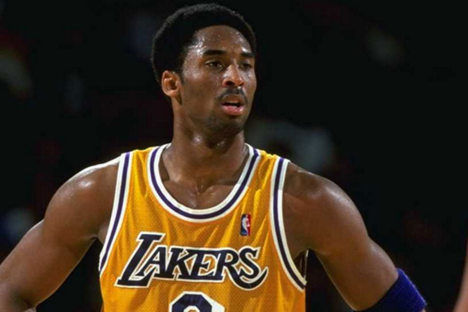 young kobe bryant highlights at the forum in inglewood