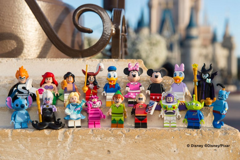LEGO Unveils First-Ever Disney Minifigures Collection