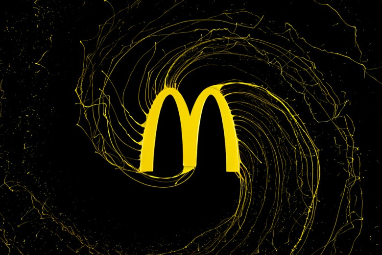 Popular Brand Logos Get Paint-Dripped Treatment