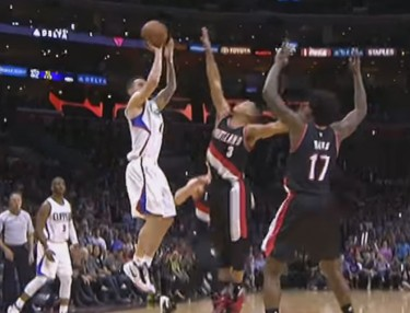 Watch J.J. Redick Sink Game-Winner in Clippers Win