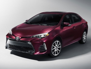 Toyota Unveils 2017 Corolla 50th Anniversary Edition