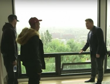Tyga Goes House Shopping with James Corden