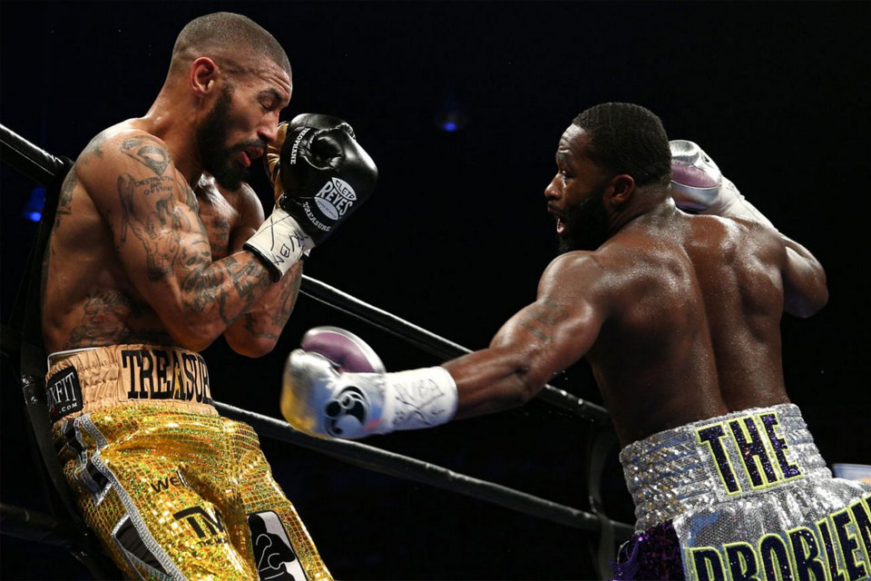 Adrien Broner vs Ashley Theophane