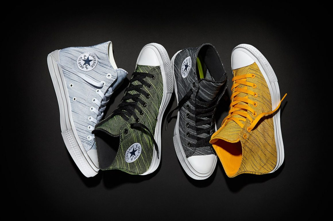 Converse Introduces Chuck Taylor All Star II Knit