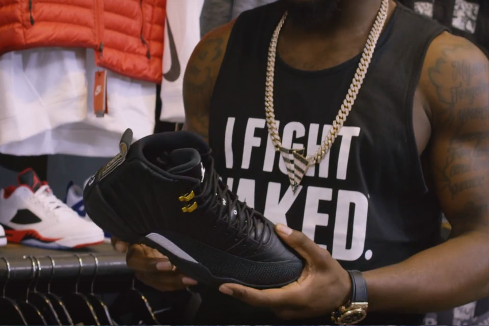 Sneaker Shopping With NFL Star Dez Bryant